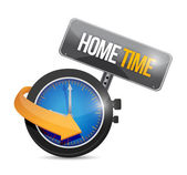 Home time watch illustration design — Stock Photo
