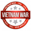 Stock Photo: Vietnam war commemoration seal illustration