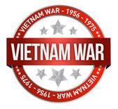 Vietnam war commemoration seal illustration — Stock Photo