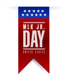 Martin luther king jr day sign banner. — Stock Photo