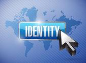 Identity button illustration design — Stock Photo