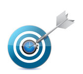 Target watch illustration design — Stock Photo