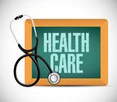 Cuidado de la salud médica sign ilustración diseño — Foto de Stock