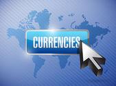Ilustração de botão de moedas — Foto Stock