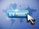 New product button illustration design — Photo