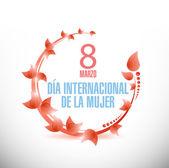 Spanish Happy Womens Day celebrations — Stock Photo