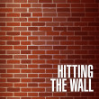Hitting the wall concept illustration — Stock Photo