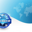 World health day illustration design — Stock Photo