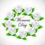 Womens day banner illustration design — Stock Photo #44314431