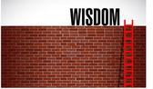 Ladder to wisdom. illustration design — Stock Photo