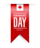 Canada remembrance day texture banner — Stock Photo