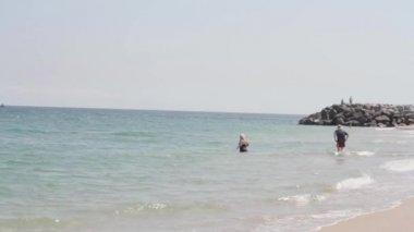 Beautiful miami florida beach — Stock Video