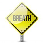 Breath sign post illustration design — Stock Photo #47167649