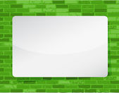 Diseño ilustración tablero blanco — Foto de Stock