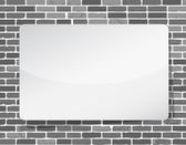 White board illustration design over a grey — Stockfoto