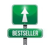 Best seller sign illustration design — Stock Photo