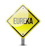 Eureka sign illustration design — Stock Photo