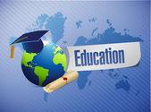 Education concept illustration design — Stock Photo