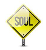Soul sign illustration design — Stock Photo