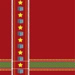 Christmas tablecloth seamless — Stock Vector #16797831