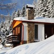 Winter cottage — Stock Photo #20055655