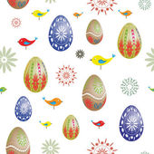 Easter seamless — Stock Vector