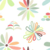 Floral seamless — Stock Vector