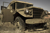 Military vehicle — Stock Photo