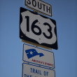 Americas Byways sign — Stock Photo