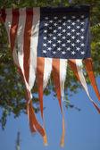 Old American Glory — Stock Photo