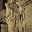 Allegorical representation of justice — Stock Photo