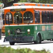 Miami DownTown Trolley Bus — Stok Fotoğraf #16323731