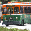 Stockfoto: Miami DownTown Trolley Bus