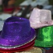 Stock Photo: Funky hats