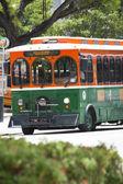 Miami downtown trolleybus — Stockfoto