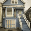 Stock Photo: SFrancisco residential house