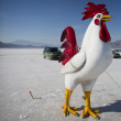 Fake rooster — Stock Photo #16663543
