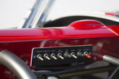 Hot Rod, detail of the control panel — Stock Photo