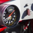 SALT LAKE, UT - SEPTEMBER 8: Detail of a reversed speedometer of — Stock Photo