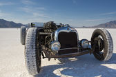 Vintage Packard racing car during the World of Speed at Bonneville Salt Flats — Stock Photo