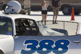 The 388 racing car during the World of Speed at Bonneville — Stock Photo