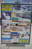 Vesco Team information poster at the World of Speed at Bonneville Salt Flats — Stock Photo