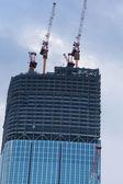 Building under construction in Tokyo — Stock fotografie