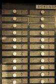 деревянные ничьих в храм асакуса в токио — Стоковое фото