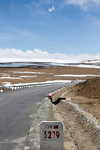 Road of Friendship in Tibet - Going to Kathmandu — Stock Photo