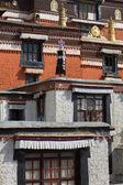 Palkhor mosteiro no tibete — Fotografia Stock