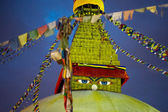 Boudhanath Stupa at night — Stock Photo