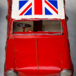 Stock Photo: British car in Shanghai