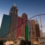 Las Vegas, Nevada - September 13, 2012: New York New York Casino — Stock Photo #27307511