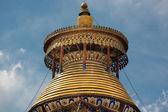 Roof of the Pelkhor Chode Monastery in Tibet — Stock Photo